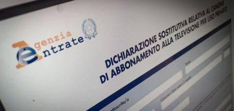 CANONE RAI 2017: SCADE IL PROSSIMO 31 GENNAIO IL TERMINE PER COMUNICARE L'ESENZIONE