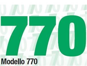 MODELLO 770 RELATIVO ALL'ANNO 2016: scadenza 31/07/2017