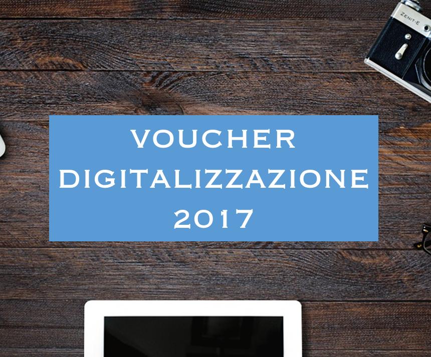 Voucher per la Digitalizzazione delle PMI 2017