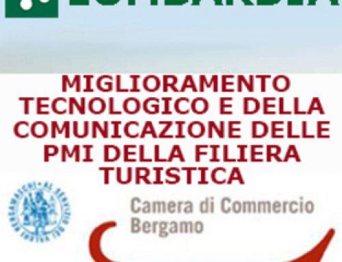 Contributi per il miglioramento tecnologico e della comunicazione della filiera turistica – anno 2018