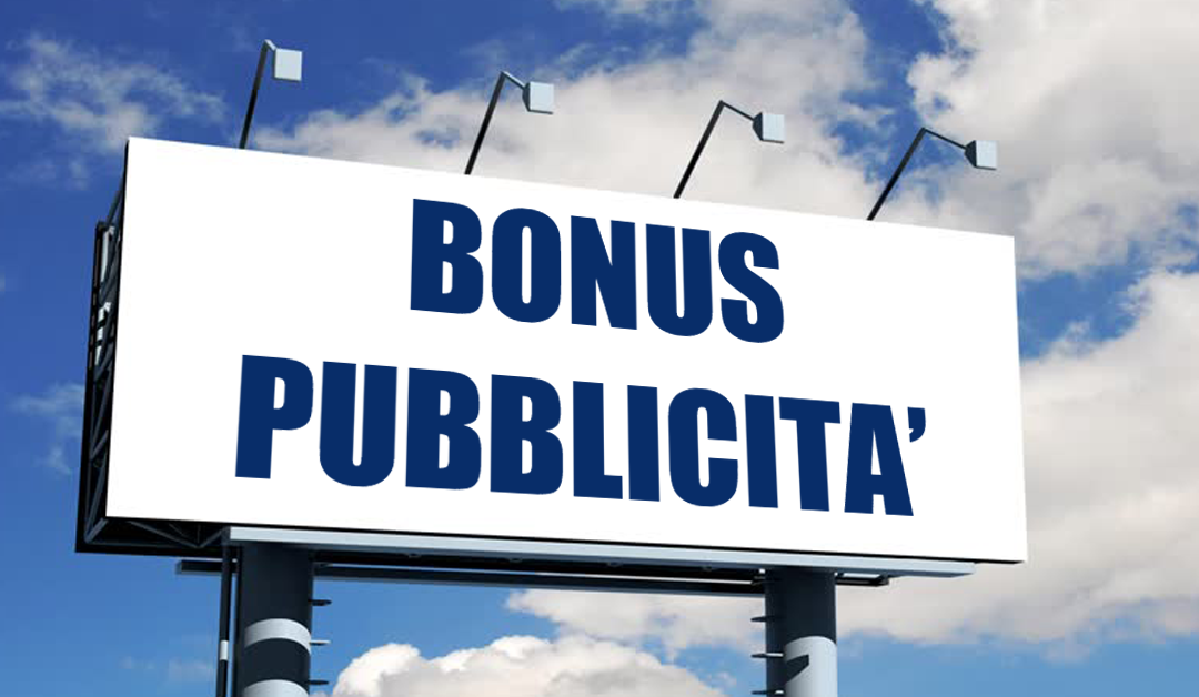 """BONUS PUBBLICITA': PUBBLICATE LE FAQ SUGLI INVESTIMENTI """"INCREMENTALI"""""""