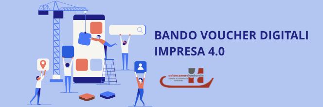 CCIAA di Brescia. Bando Voucher digitali I4.0. Anno 2019. Contributo a fondo perduto fino al 50% per spese di consulenza e formazione nell'ambito delle tecnologie digitali.