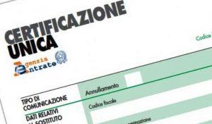 La certificazione unica 2018 nuovo termine di trasmissione studio benedetti dottori - Certificazione lavoro autonomo provvigioni e redditi diversi nel 730 ...